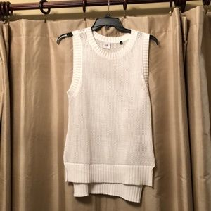 Cabi 5119 Crochet Sleeveless Summer Vest